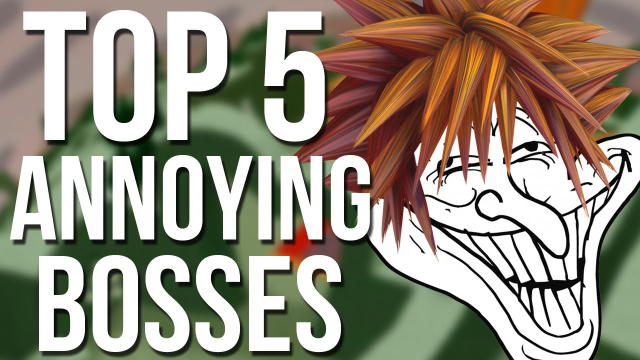 kingdom hearts top 5 most annoying bosses