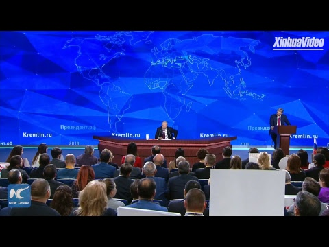 LIVE: Vladimir Putin holds annual press conference in Moscow