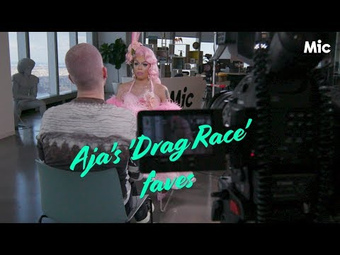 Aja reveals which queen would she call if she needed a friend