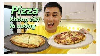 Làm Pizza Không cần lò nướng | Vlog 65