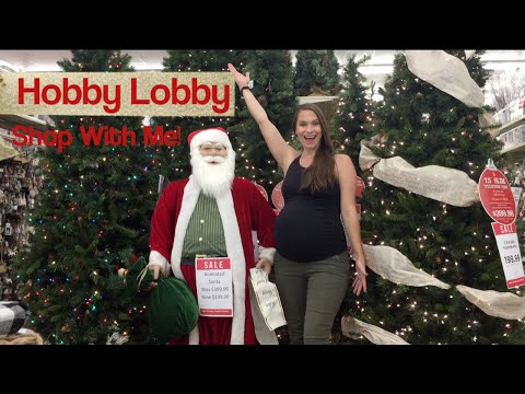 Everything Christmas Shop With Me at Hobby Lobby!! Let's Go Caroling Together!
