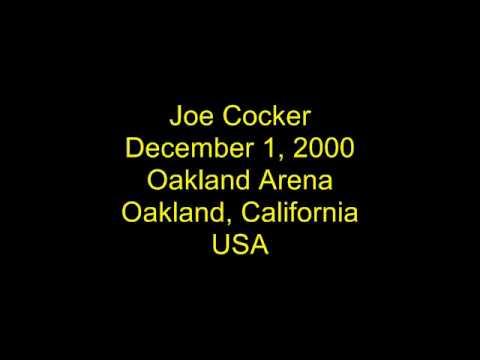 Joe Cocker - December 1, 2000 - Oakland Arena