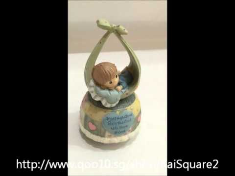 Precious Moments Inspired Musical Figurine
