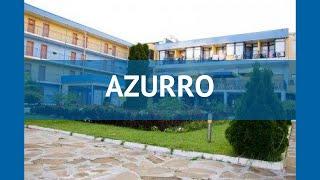 AZURRO 3* Болгария Солнечный Берег обзор – отель АЗУРРО 3* Солнечный Берег видео обзор