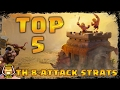TH 8 Top 5 3 Star Attacks | Clash of Clans
