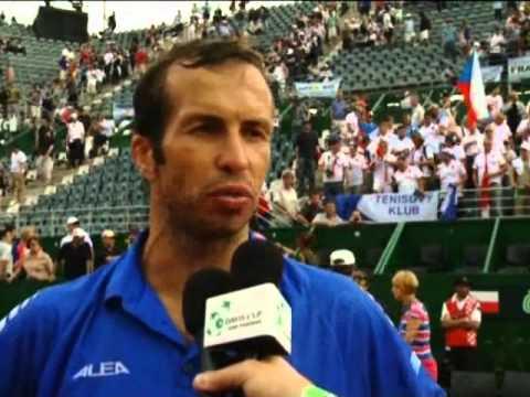 Davis Cup Interview: Tomas Berdych / Radek Stepanek