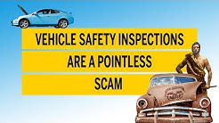 Vehicle safety inspections are a pointless scam