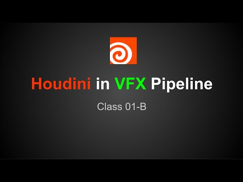 Houdini in VFX Pipeline - Network View and Nodes