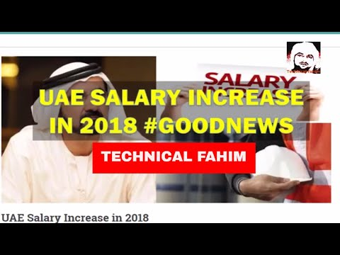 UAE Salary Increase in 2018 GOOD NEWS FOR UAE RESIDENCE HINDI