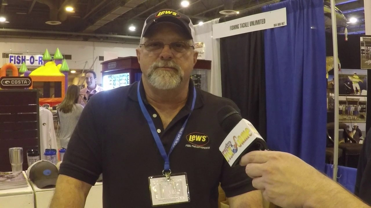 Fishing tackle unlimited lews 2017 houston boat show for Fishing tackle unlimited houston tx