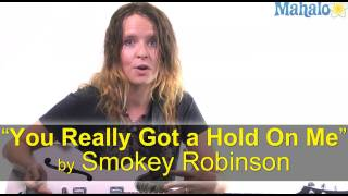 """How to Play """"You Really Got a Hold On Me"""" by Smokey Robinson on Guitar"""