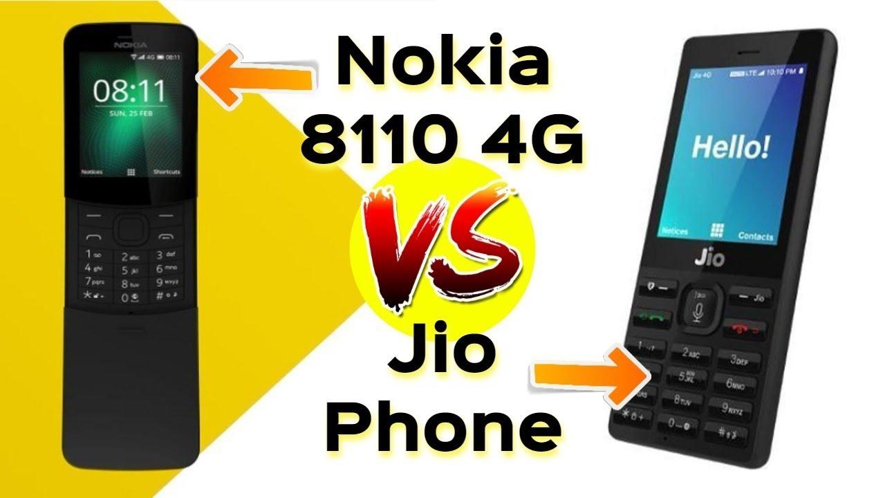 Nokia 8110 4G vs Jio Phone   क्या नोकिआ जिओ फ़ोन को टक्कर दे पायेगा ??    Data Dock