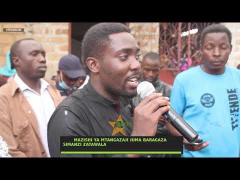 Download SIMANZI ZATAWALA MAZISISHI YA JUMA BARAGAZA   ALIYEKUWA MTANGAZAJI WA RFA NA STARTV