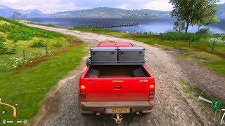 Forza Horizon 4 - Toyota Hilux Arctic Trucks AT38 2007 - Open World Free Roam Gameplay HD