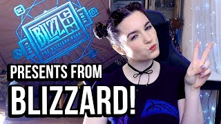 PRESENTS from Blizzard Entertainment | UNBOXING BlizzCon Goody Bag!