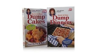 """dump Dinners"" And ""dump Cakes"" Quick   Easy Cookbook Duo"