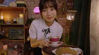ASMR Relaxing Piercing Cafe🍪