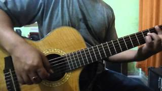 Kisi ki muskurahaton guitar instrumental by nakul thapa