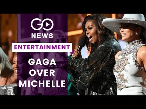 Michelle Obama Rocks Grammys