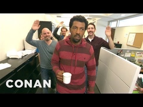 Please Stop Congratulating Deon Cole On Obama's Re-Election - CONAN on TBS