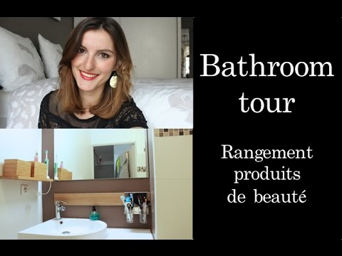room tour rangement produits de beaut youtube. Black Bedroom Furniture Sets. Home Design Ideas