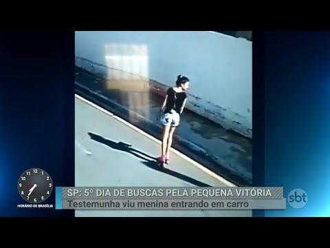 Testemunha diz que viu menina desaparecida entrando em carro | Primeiro Impacto (13/06/18)