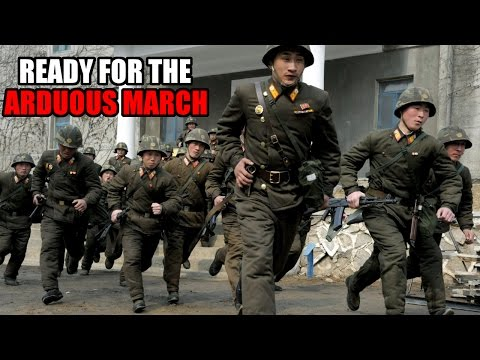 DPRK Prepared for another Arduous March