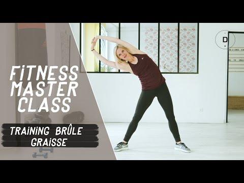 Training brûle-graisses (20 min) - Fitness Master Class