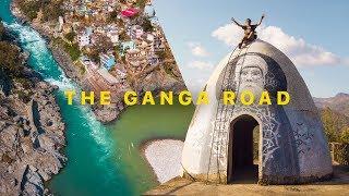 Where does the Ganga River begin?