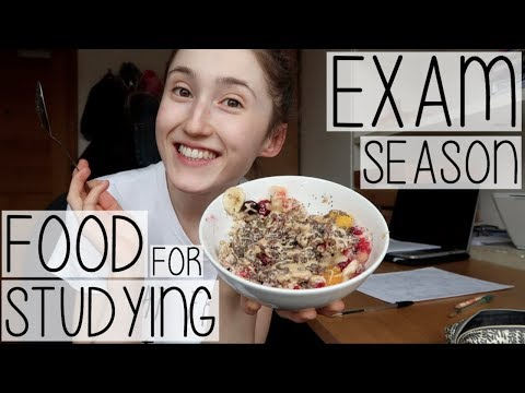 WHAT I EAT IN A DAY STUDY WITH ME AT UNI #006 | EXAM SEASON EDITION FT. REVISION SNACKS