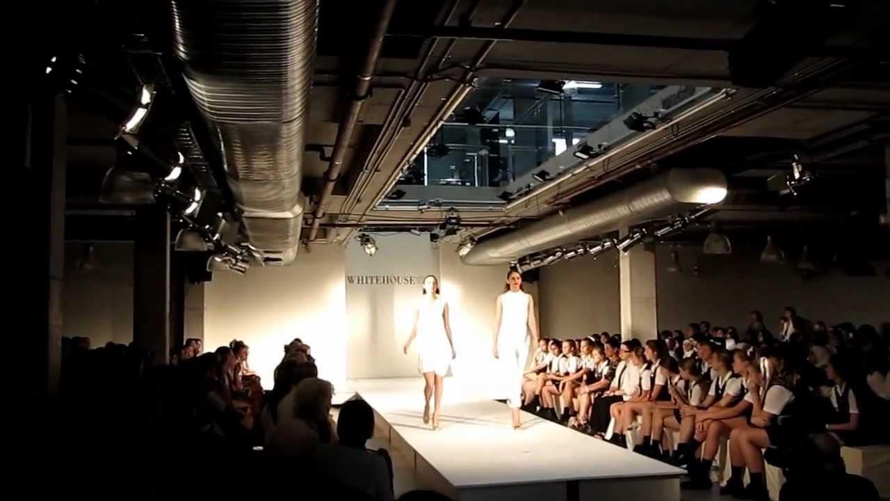 Whitehouse Institute Of Design '12 Runway Fashion Show YouTube