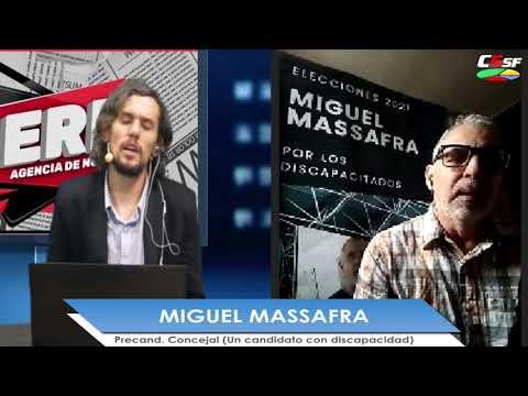 Miguel Massafra: Los discapacitados necesitamos una representación en el Concejo