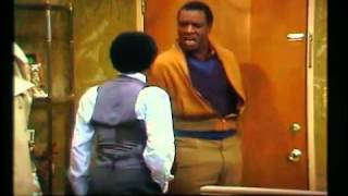 "Moses Gunn to George Jefferson.....""YOU CRAZY NIGGER!"""