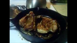Pork Chops On Cast Iron Recipe