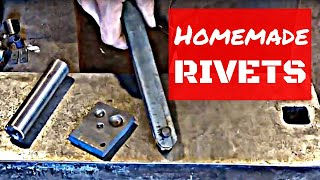 How To Forge Your Own Homemade Rivets