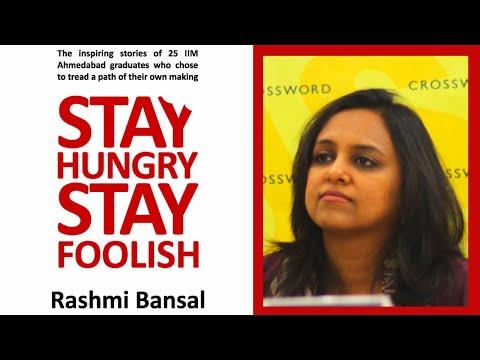 Stay Hungry, Stay Foolish - Rashmi Bansal   | Book review
