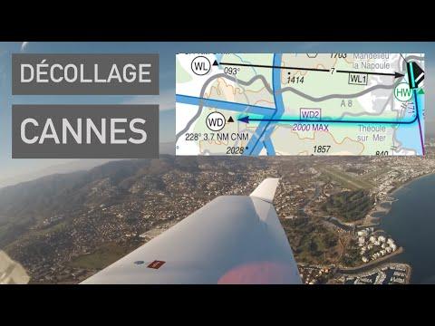 PPL ✈ Départ de Cannes Mandelieu   Communications radio
