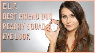 Video Simple Peach Squad Eye Look (Cruelty Free & Vegan!) - Logical Harmony download MP3, 3GP, MP4, WEBM, AVI, FLV November 2017