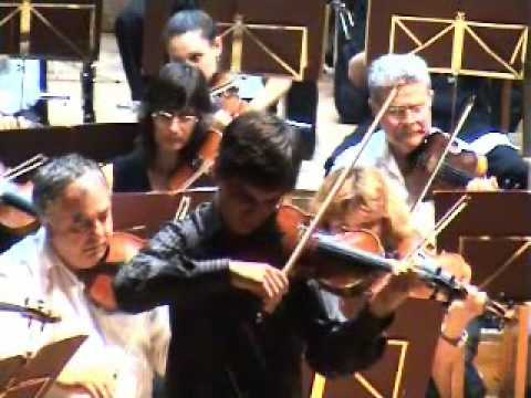 Saint-Saëns: Violin Concerto nº 3 (2° mov.) - Pedro Barreto