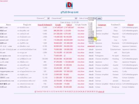 IDNTools IDN Droplist demo