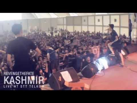 REVENGE THE FATE - KASHMIR (Live at STT Telkom)