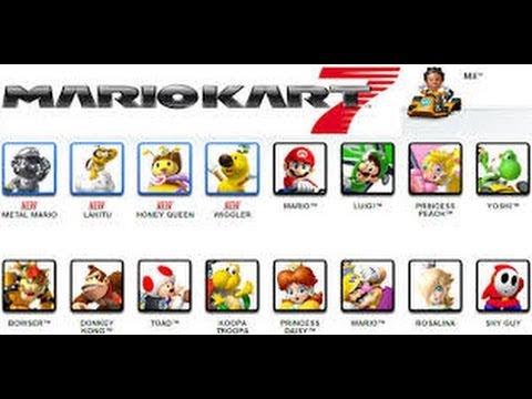 Mario Kart 7 Comment Avoir Waluigi