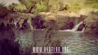 Nacimiento de Agua el Caracol en Ayotlan
