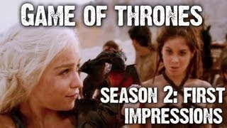Game of Thrones Season 2 Trailer Reaction + Predictions