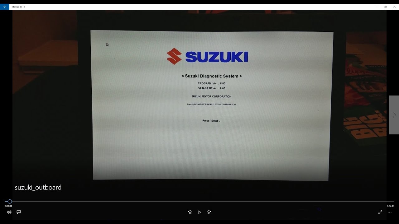 How to Read Suzuki / Johnson 4 Stroke Outboard Engine Hours / Diagnostics