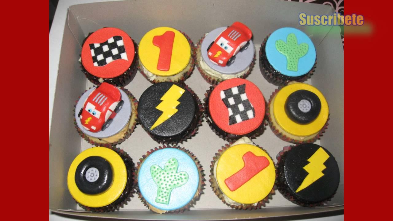 Las mejores decoraciones de cupcakes de cars youtube for Decoracion en cupcakes
