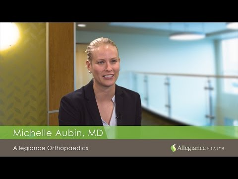 Meet Orthopaedic Surgeon Michelle Aubin, MD