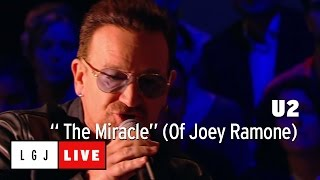 U2 - The Miracle (Of Joey Ramone) - Live du Grand Journal