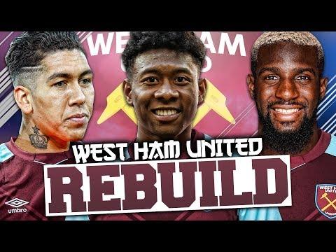 REBUILDING WEST HAM UNITED!!! FIFA 18 Career Mode