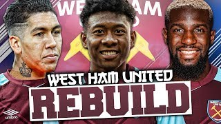REBUILDING WEST HAM UNITED!!! FIFA 18 Career Mode